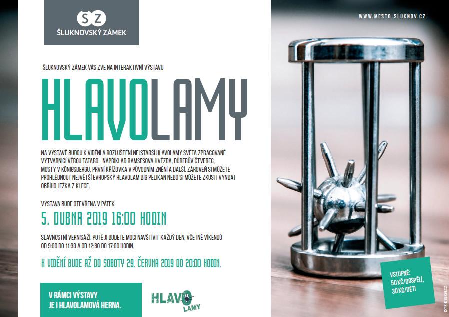 """Interaktivní výstava """"HLAVOLAMY"""""""