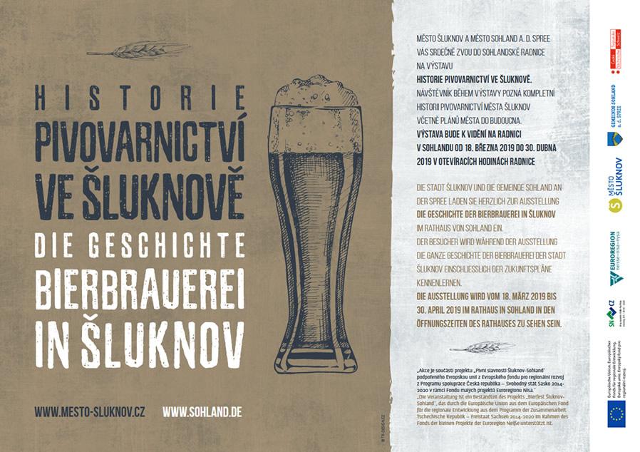 Výstava o šluknovském pivovarnictví v Sohlandu
