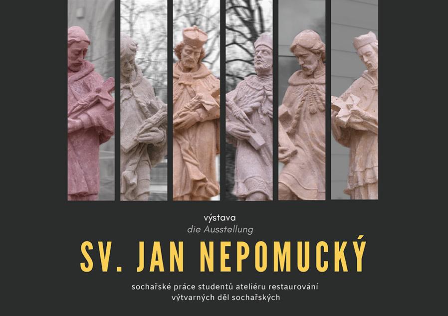 Výstava soch sv. Jana Nepomuckého