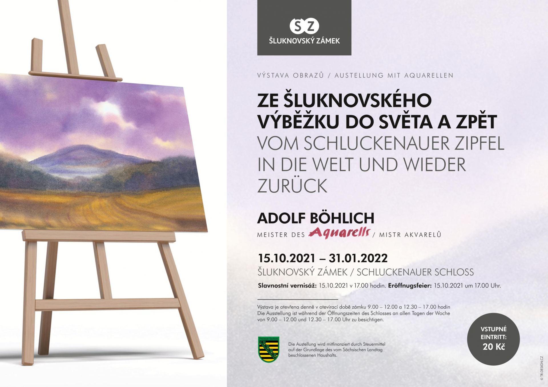 Výstava obrazů Adolfa Böhlicha