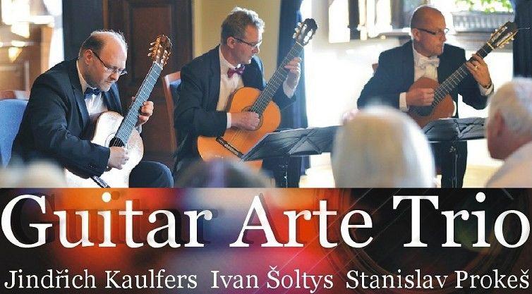 """Koncert vážné hudby """"Guitar Arte Trio"""""""