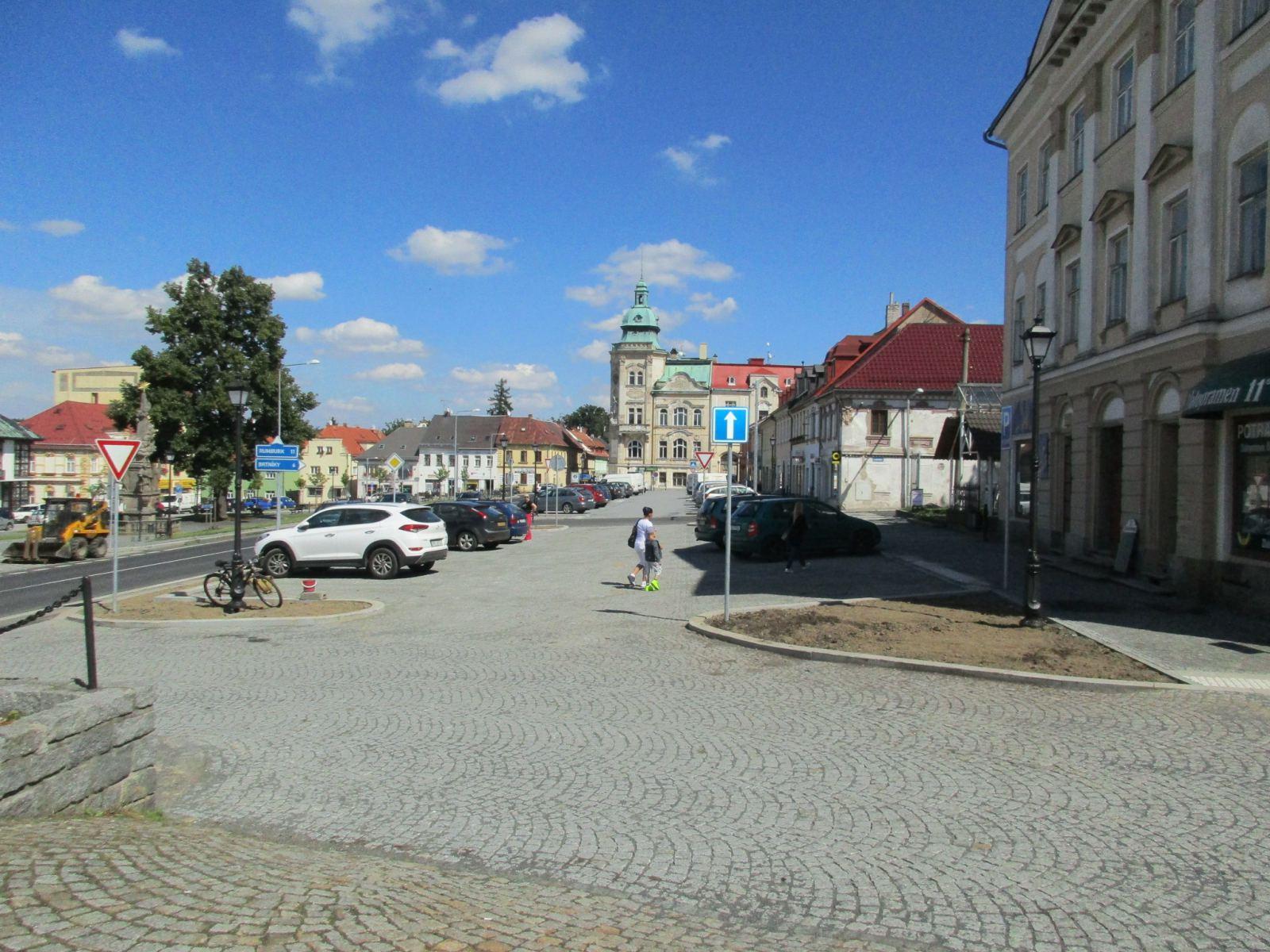 Nové stavby ve Šluknově