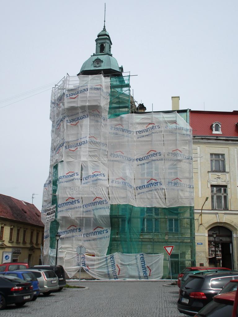 Revitalizace nároží a západní fasády Domu kultury Šluknov