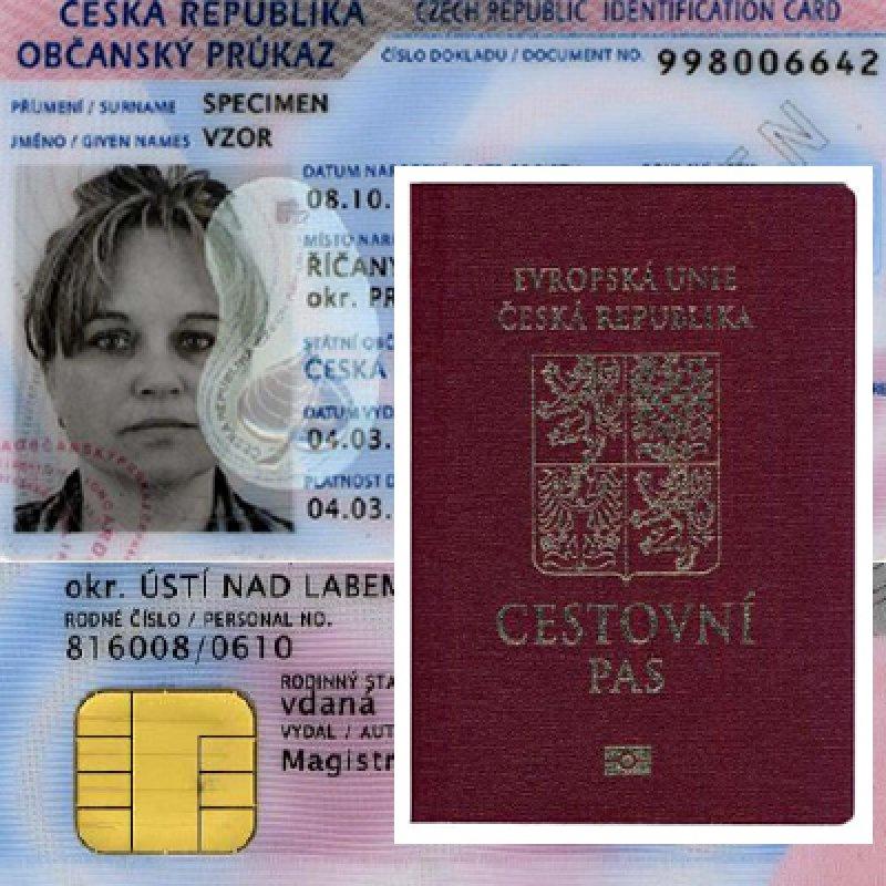 Od 1. července 2018 dochází ke změnám ve vydávání cestovních pasů a občanských průkazů