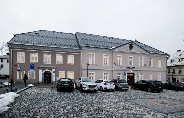 Den otevřených dveří na nově zrekonstruované radnici