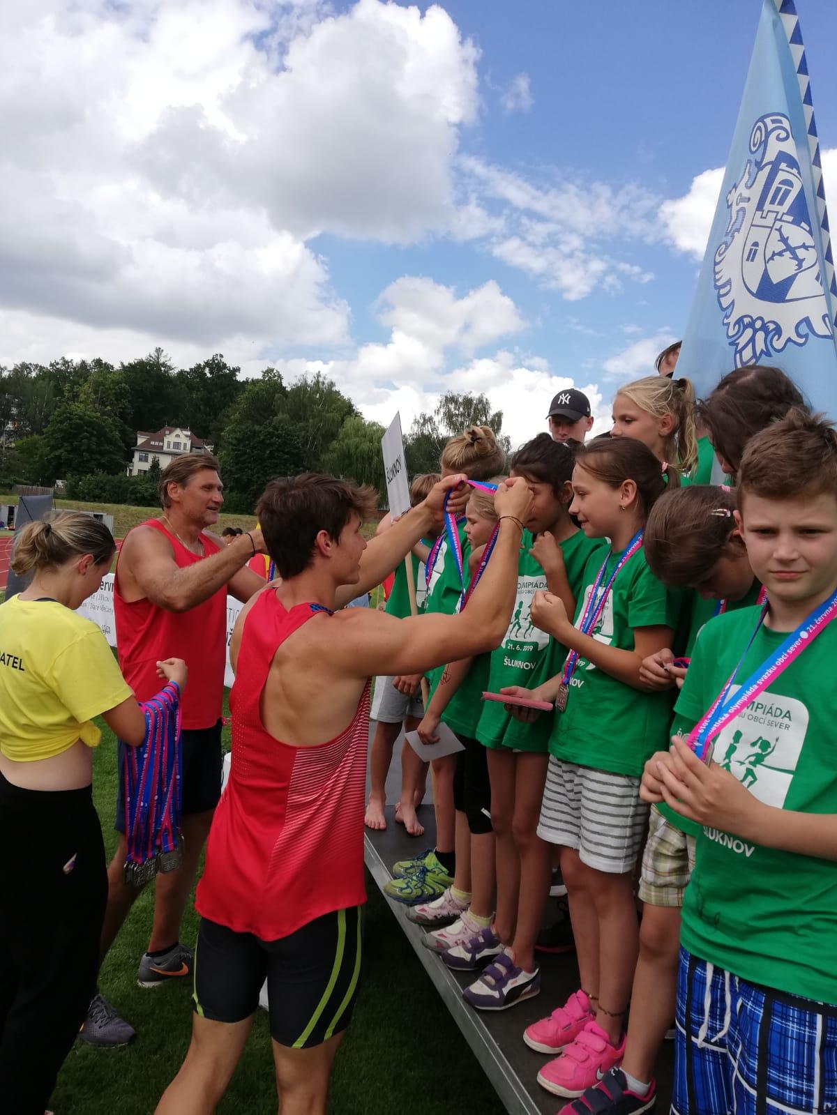 Atletická olympiáda dětí Svazku obcí SEVER