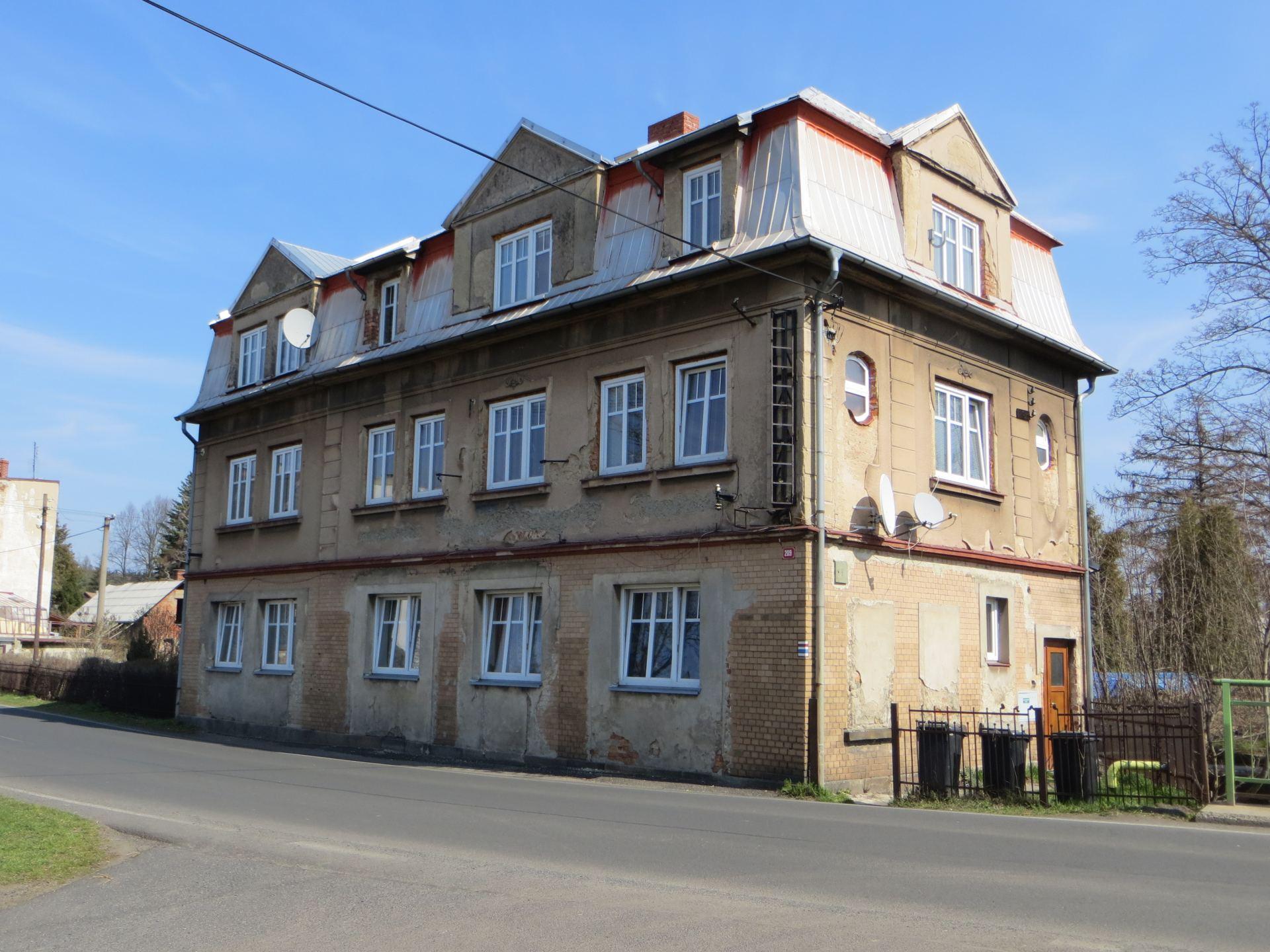 Dům čp. 209 v ul. Budišínská, 5 bytových jednotek