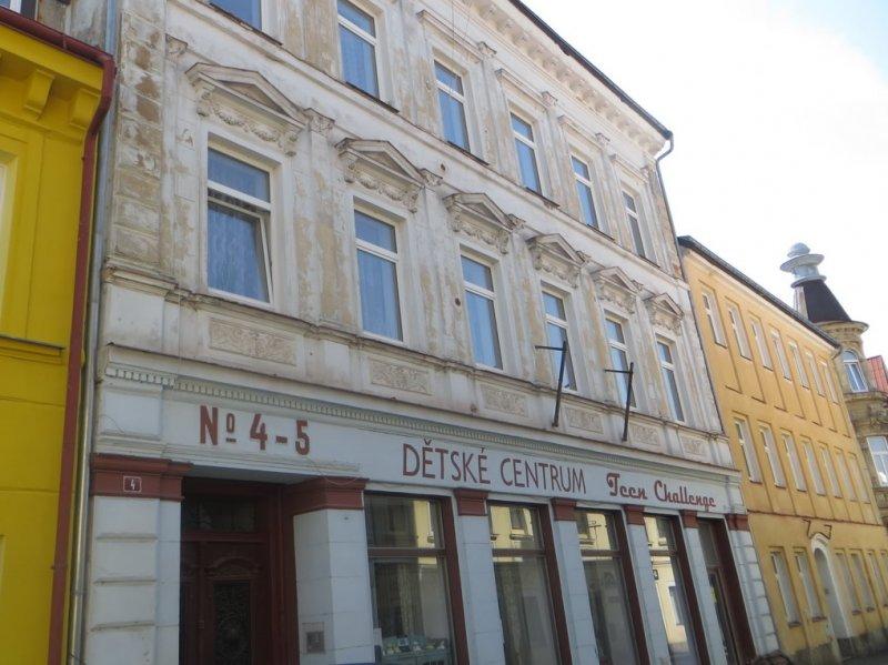 Město nabízí k prodeji 2 bytové domy v centru města