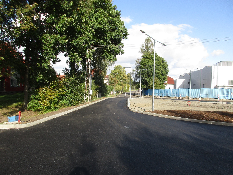 07 - asfaltování křižovatky