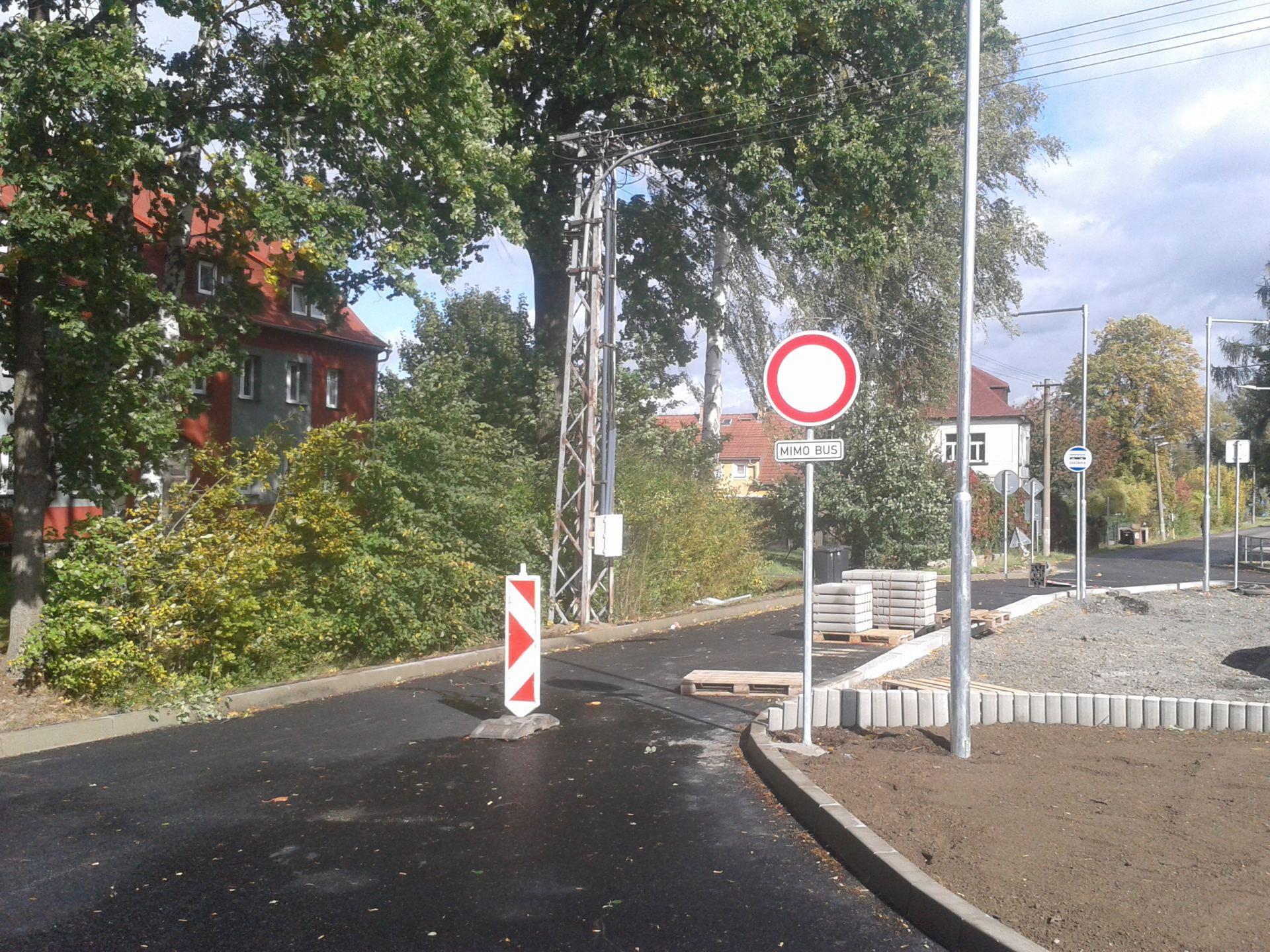 10 - nově osazené dopravní značení