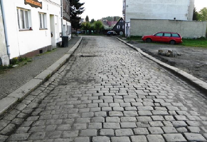 původní stav Smetanovy ulice