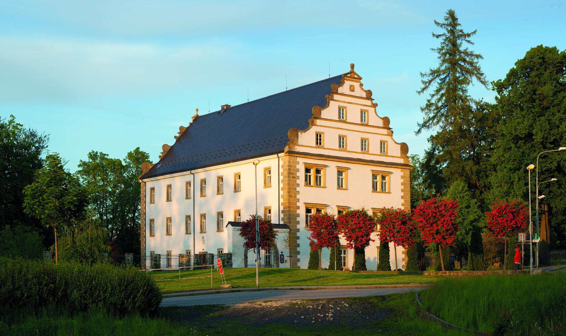 Šluknovský zámek znovu pro návštěvníky otevřen
