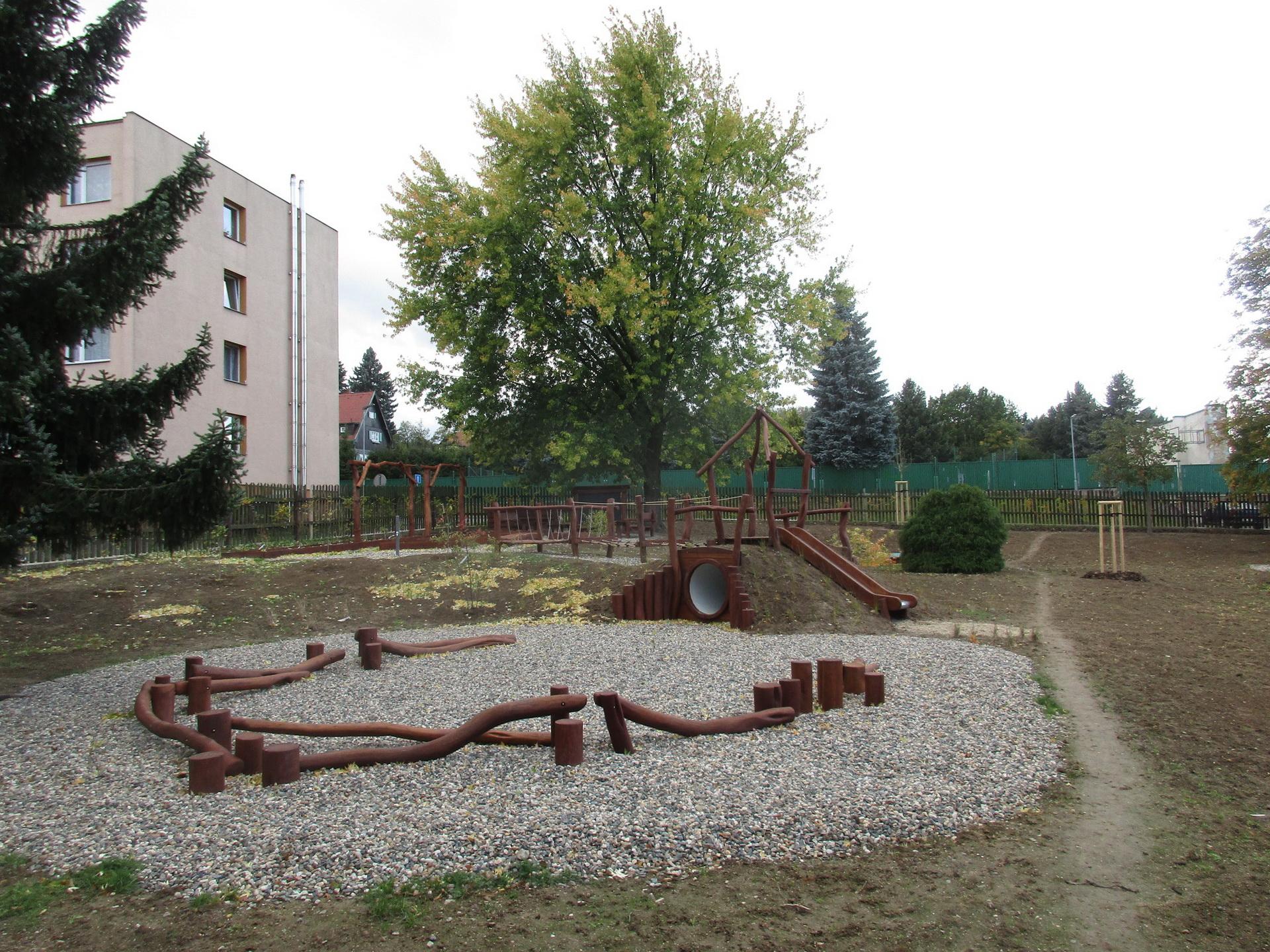 Přírodní zahrada MŠ Žižkova, Šluknov