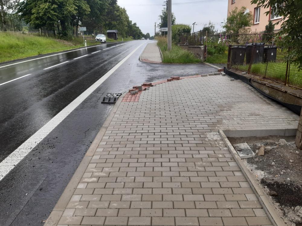 Rekonstrukce chodníku v ul. Dr. E. Beneše