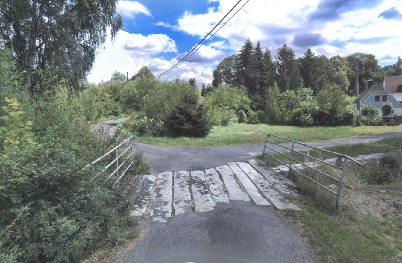 Opravený mostek v Království