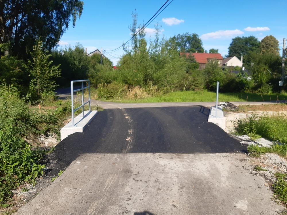 6 - mostek s asfaltovým povrchem