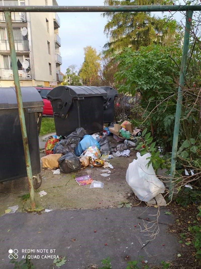 Odpady na sídlišti