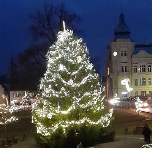 Rozsvícení vánočního stromu