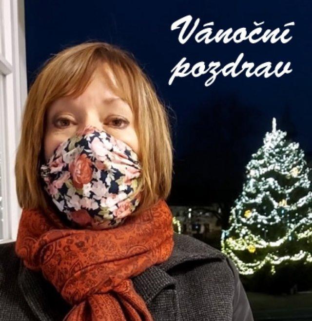 Vánoční pozdrav starostky města