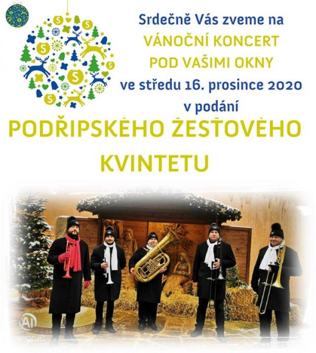 Vánoční koncert pod Vašimi okny