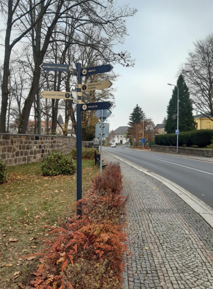 Orientace po městě bude pro návštěvníky i nové obyvatele jednodušší