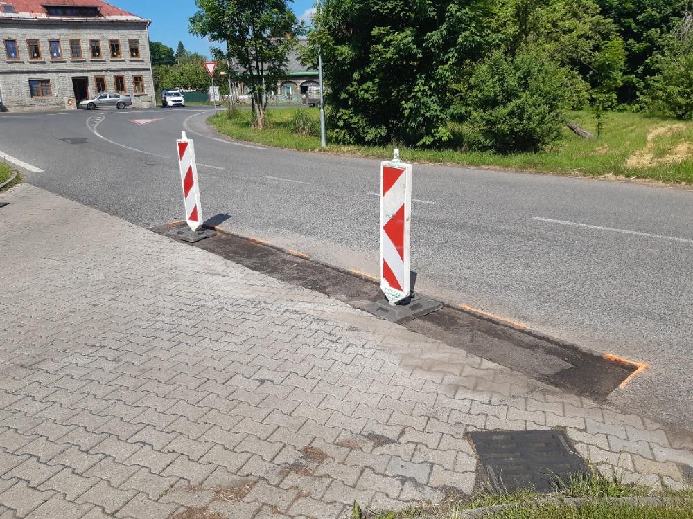 První část oprav komunikací s asfaltovým povrchem