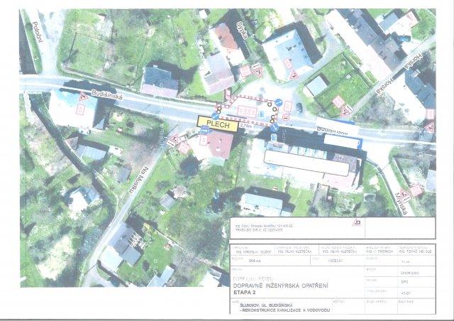 Rekonstrukce vodovodu a kanalizace v ulici Budišínská