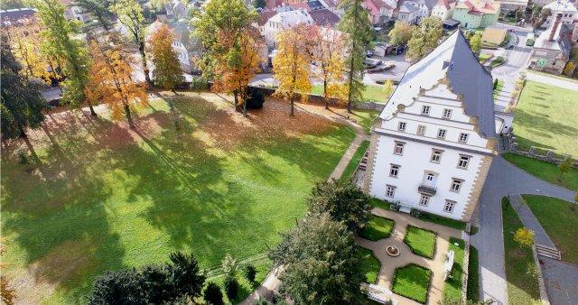 Na zámku ve Šluknově dokončili po pěti letech prvorepublikový okruh